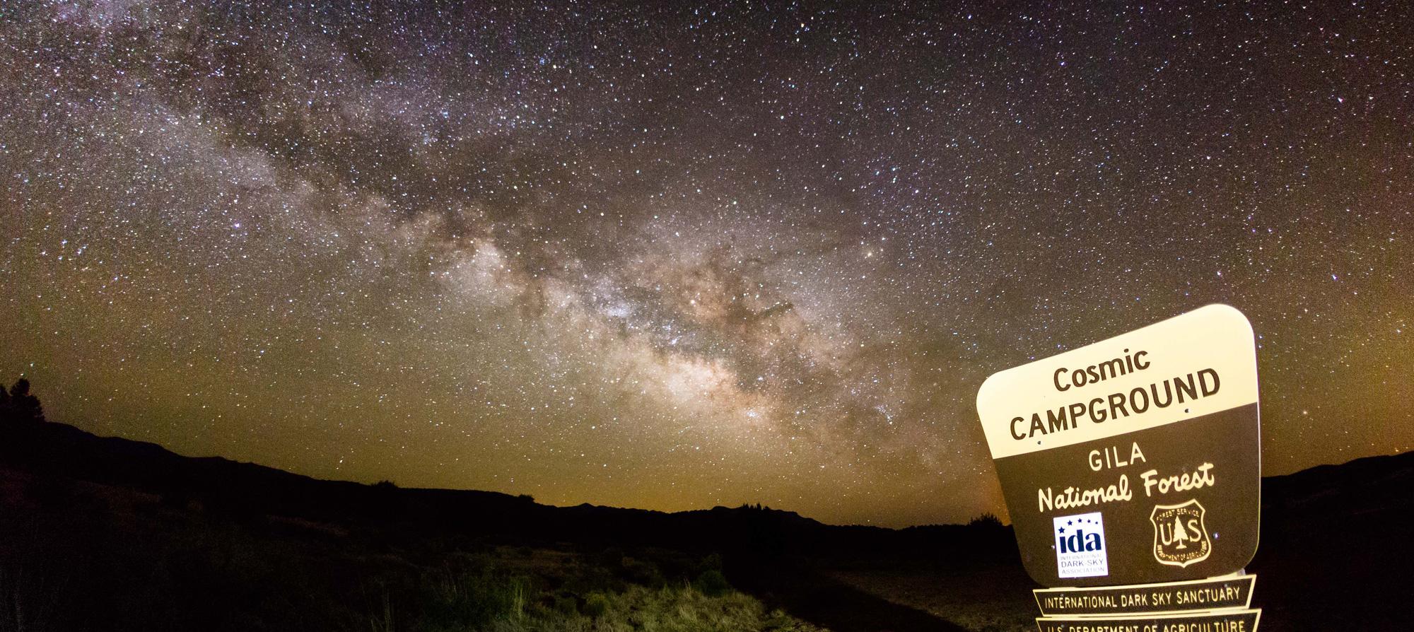 Nm True Dark Skies Trail - Us-dark-sky-map