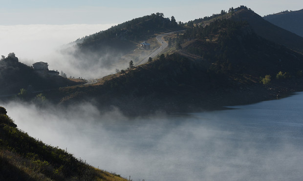 Fall, Horsetooth Reservoir, Credit Richard Haro (2)