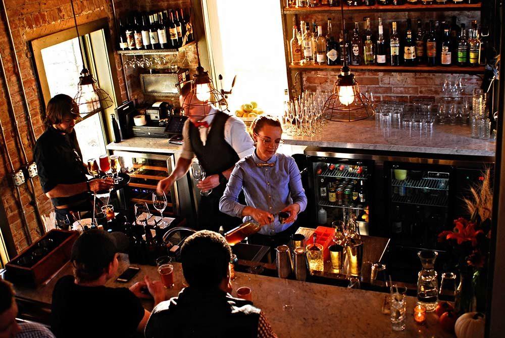 The Farmhouse bar