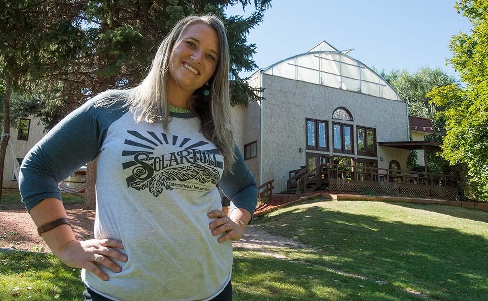Chelsea Gressman Owner Solarium International Hostel