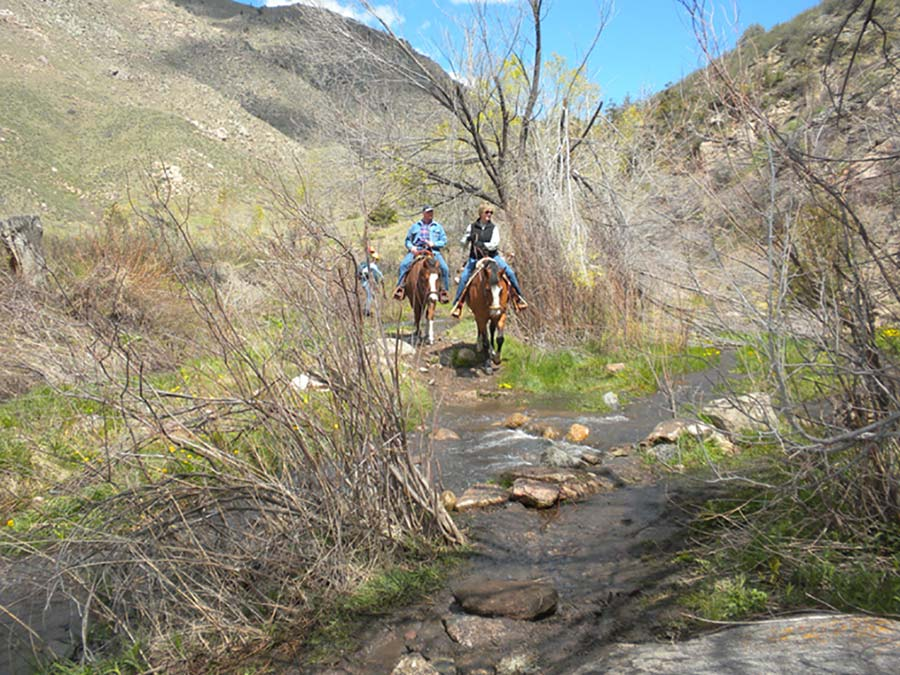 Hewlett Gulch Trail