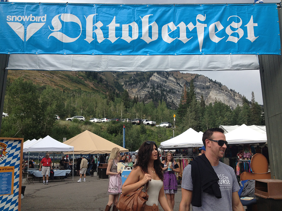 Oktoberfest at Snowbird