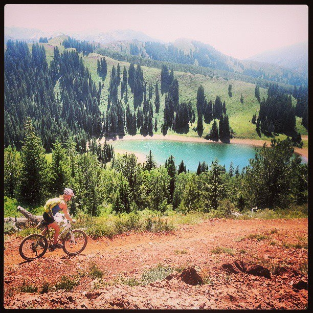 Wasatch Crest Trail - photo courtesy Cecile Allen