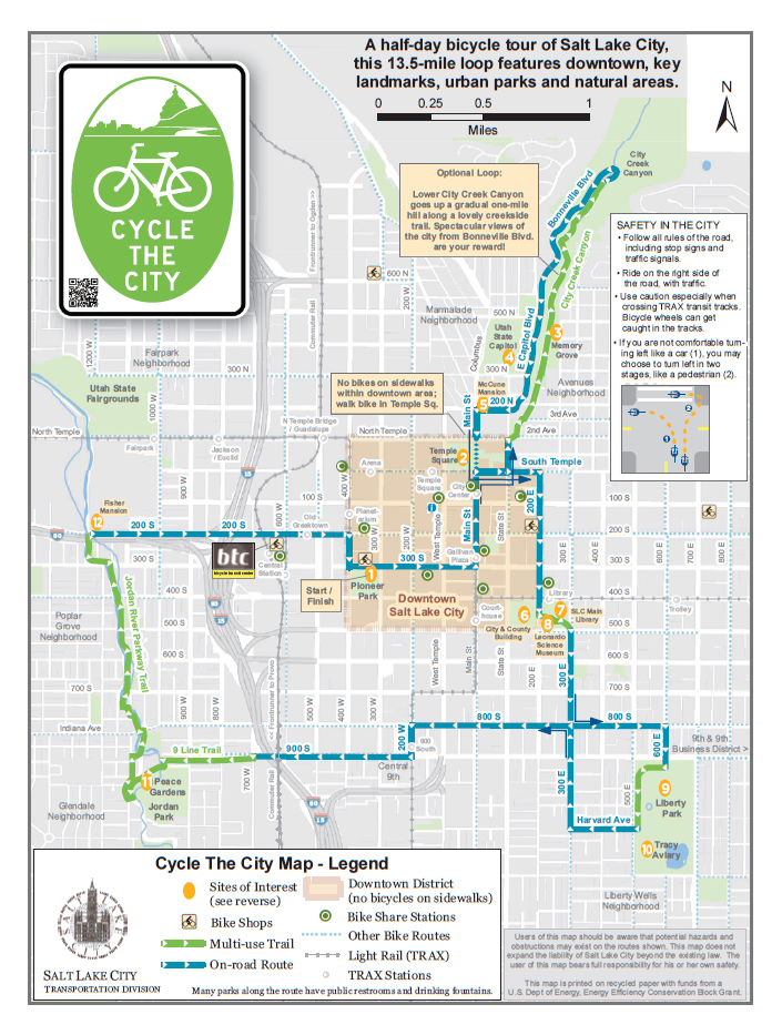 Map Salt Lake City Salt Lake Maps | Salt Lake Trip Planner
