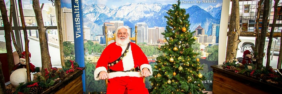 Santa Claus at Downtown Visitor Information Center