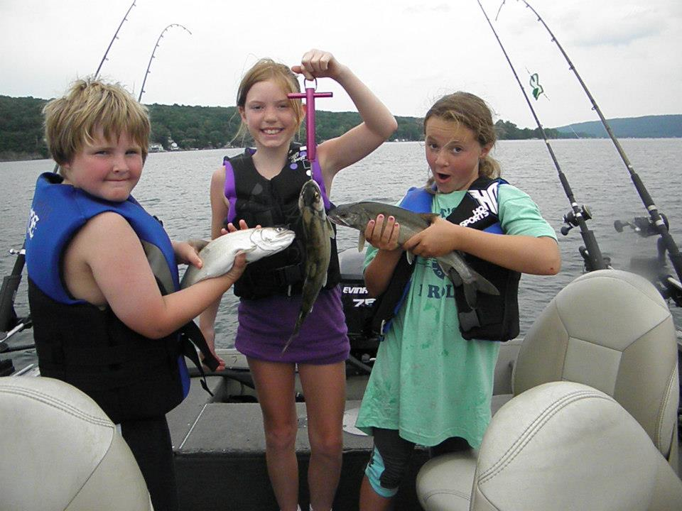 Fishing on Keuka Lake
