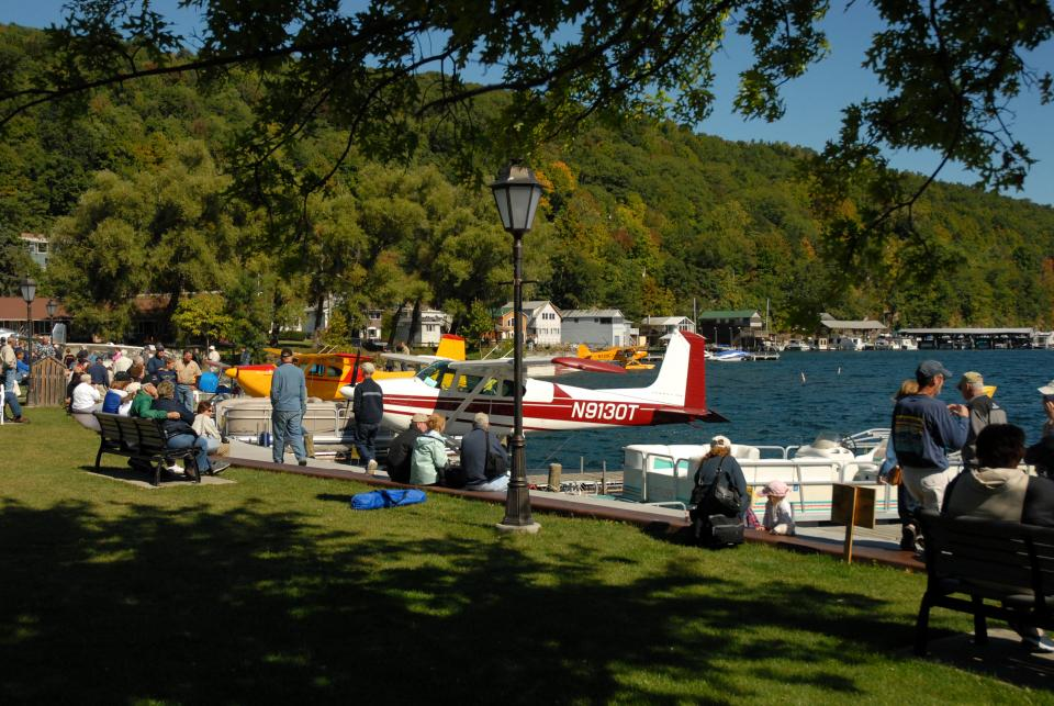 Seaplanes on Keuka Lake