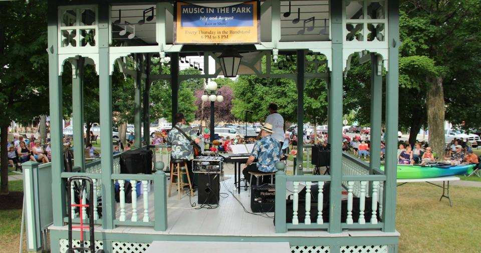 Music in the Park courtesy of the Hammondsport Chamber of Commerce