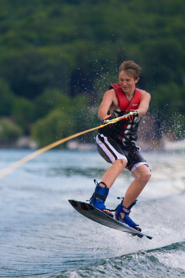 Wake Boarding courtesy of Chris Brooks