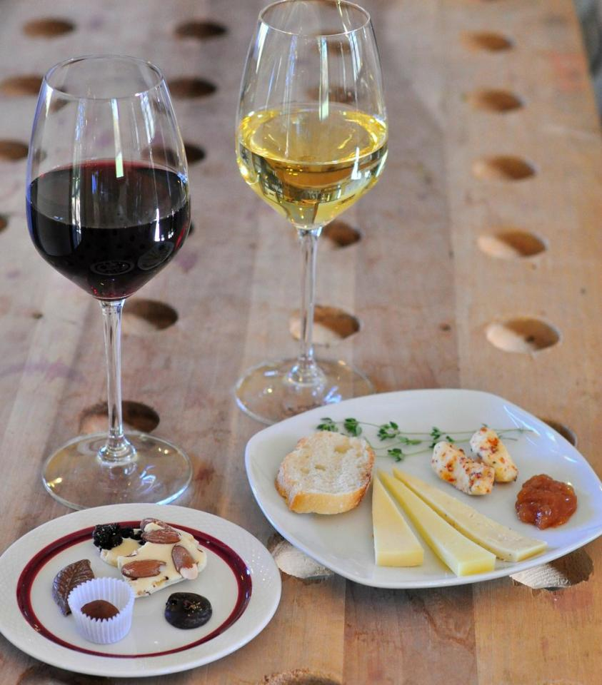 Ravines Wine Cellars Wine and Cheese