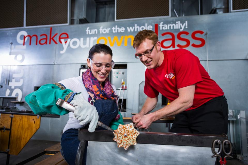 Make Your Own Glass courtesy of Corning Museum of Glass