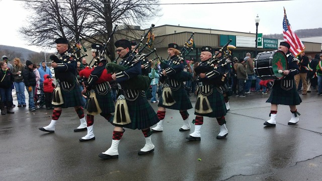Hornell St. Patrick's Day Parade courtesy of Hornell Partners for Growth