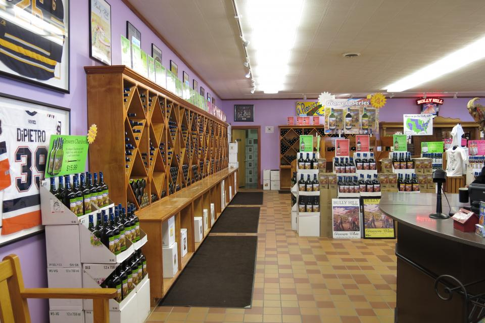Bully Hill Wine Shop