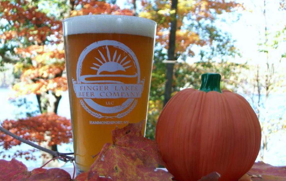 Pumpkin Beer courtesy of Finger Lakes Beer Company