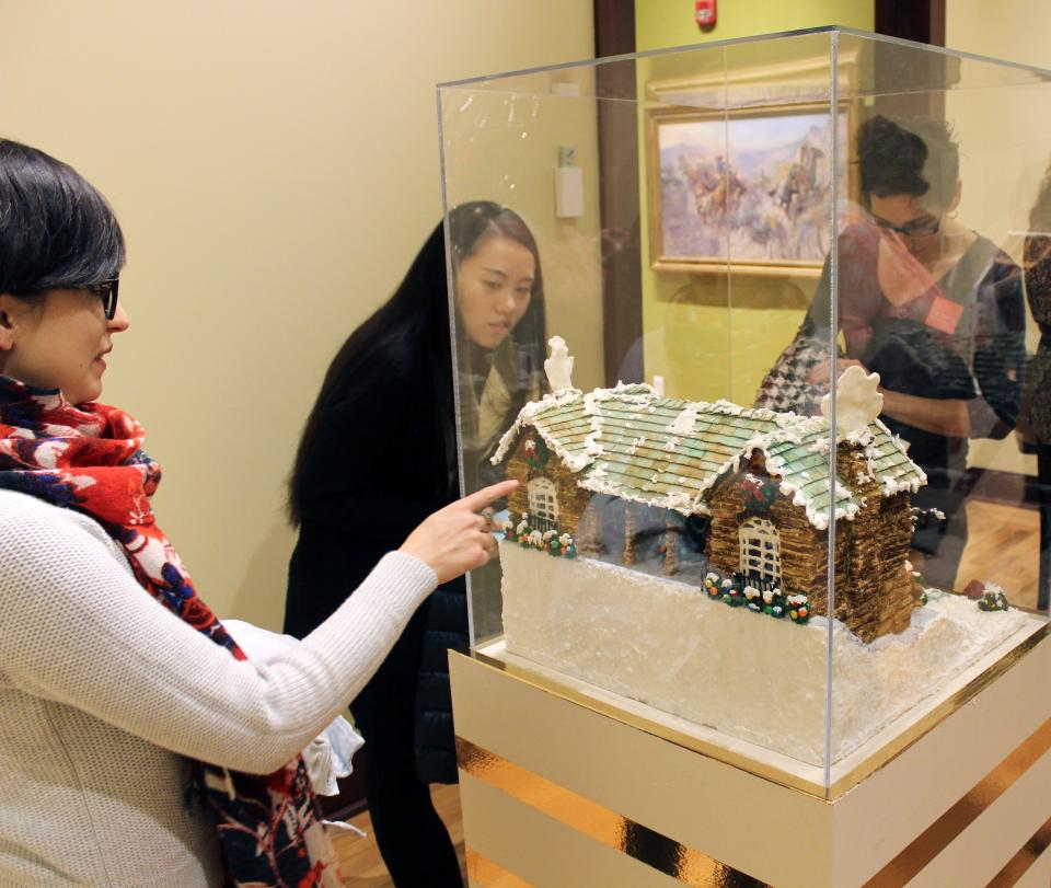 Gingerbread Invitational at the Rockwell Museum
