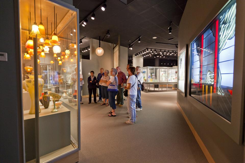 Gallery at Corning Museum of Glass