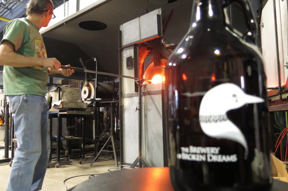 Hot Glass, Cool Brew
