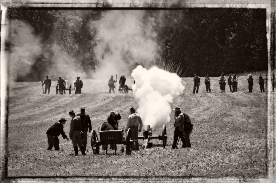 Battle of Lain's Mill courtesy of Jolynn Prunoske