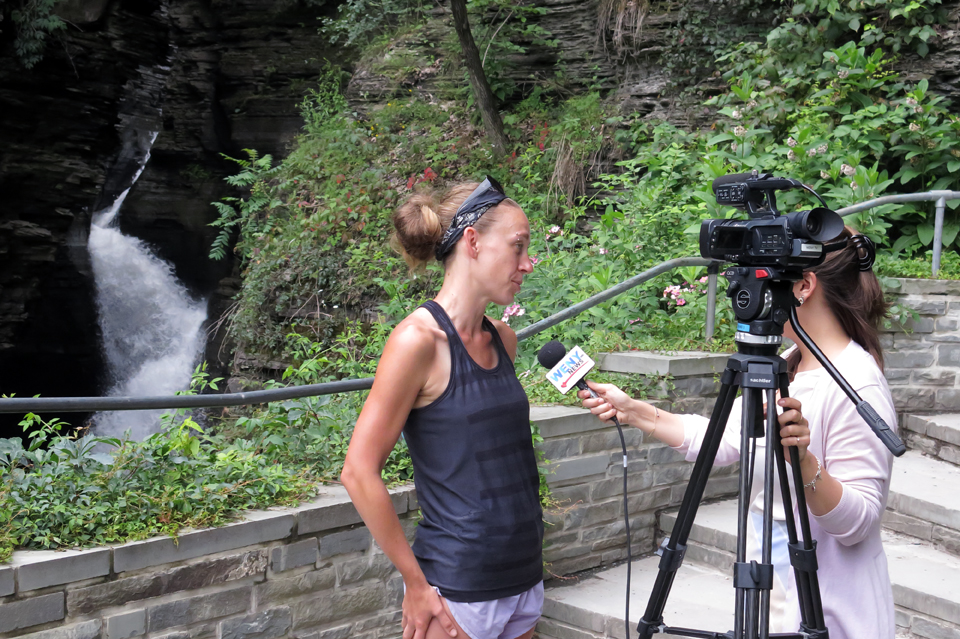 Heather Houskeeper Interviewed for WENY TV