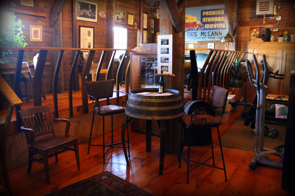 McCorn Winery Lodging courtesy of Kayti Burt - click image to read Kayti's article on McCorn's and Hammondsport