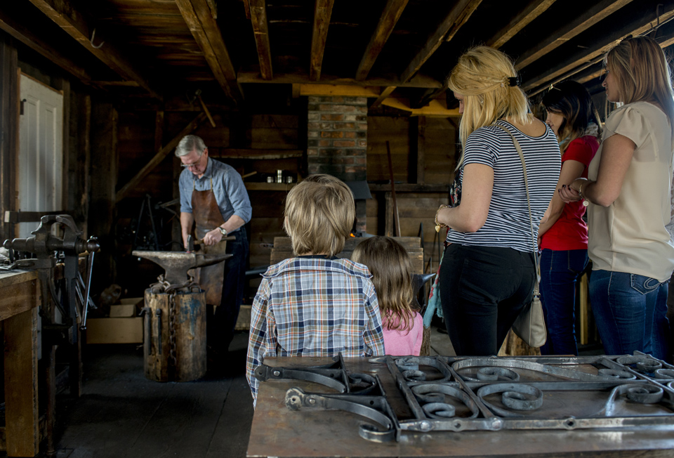 Heritage Viilage of the Southern Finger Lakes Blacksmith Shop courtesy of Stu Gallagher