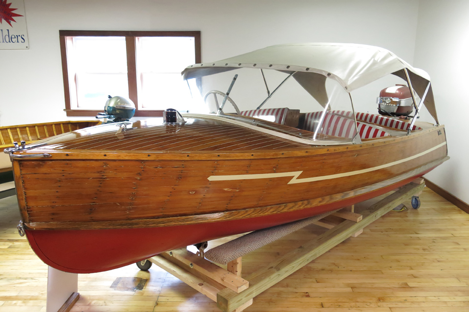 Wooden Boat at Finger Lakes Boating Museum
