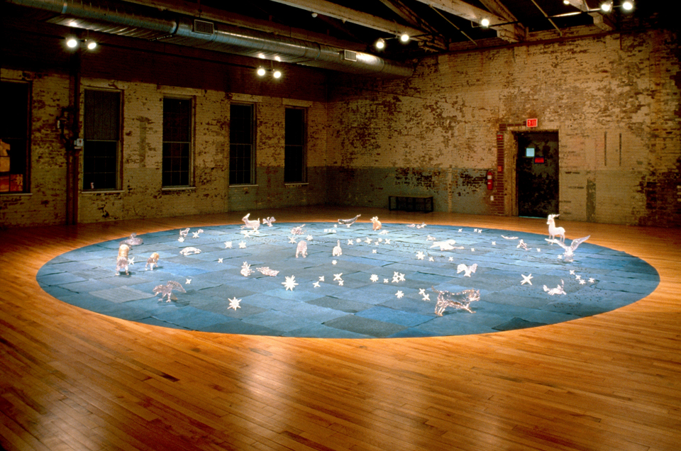 Constellation by Kiki Smith courtesy of The Pace Gallery