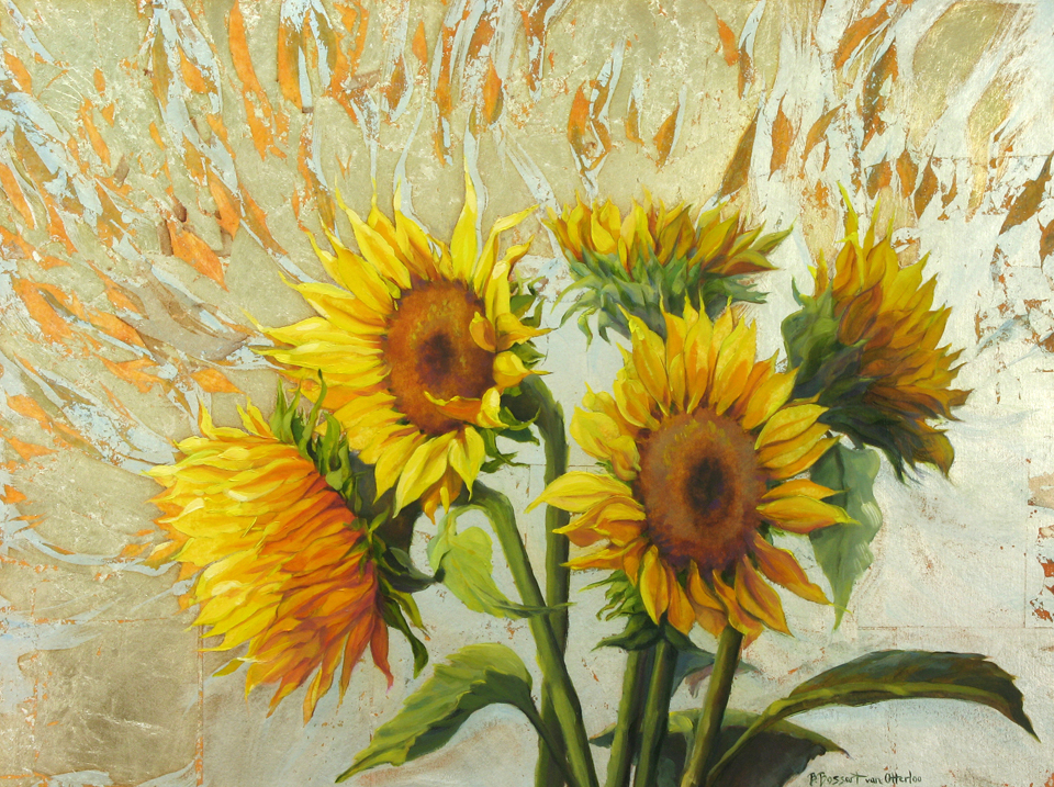 Flowers by Bridget Bossart van Otterloo