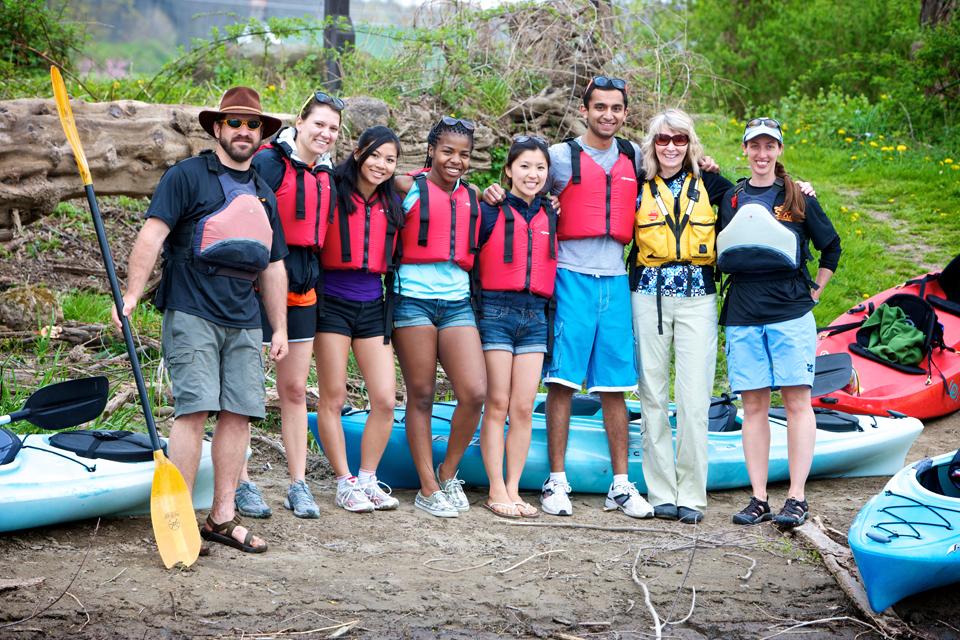 Kayaking courtesy of Southern Tier Kayak Tours