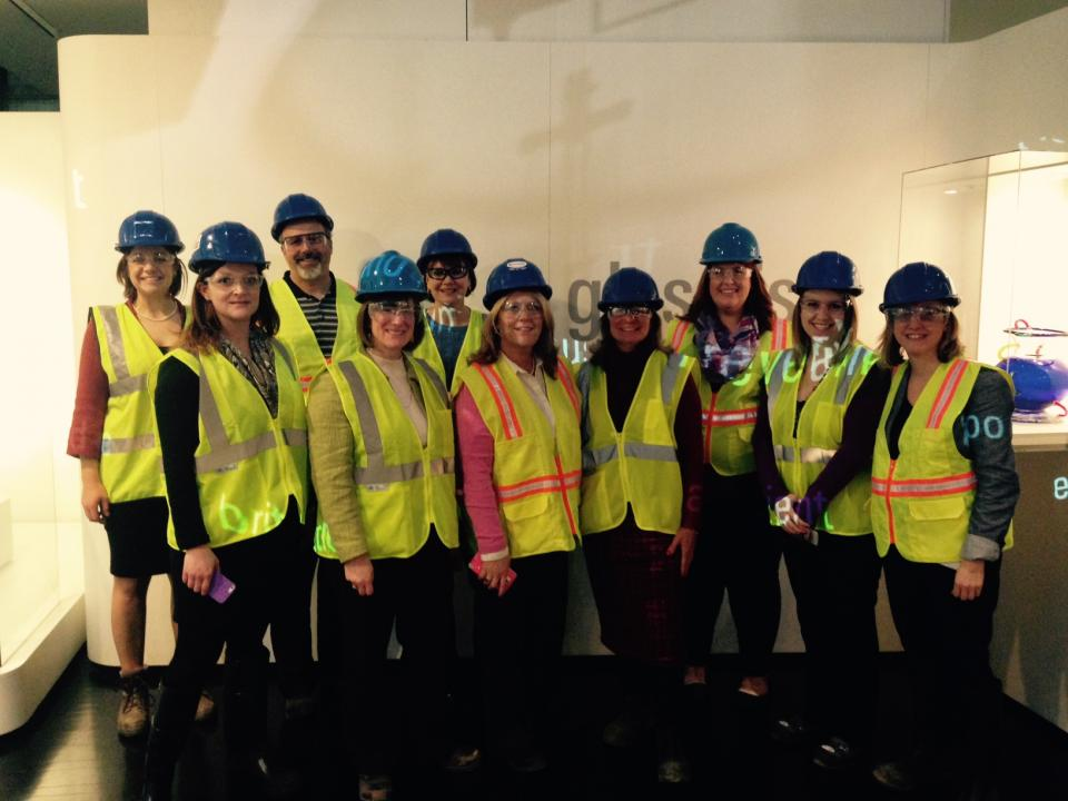North Wing Expansion Hard Hat Tour courtesy of The Corning Museum of Glass