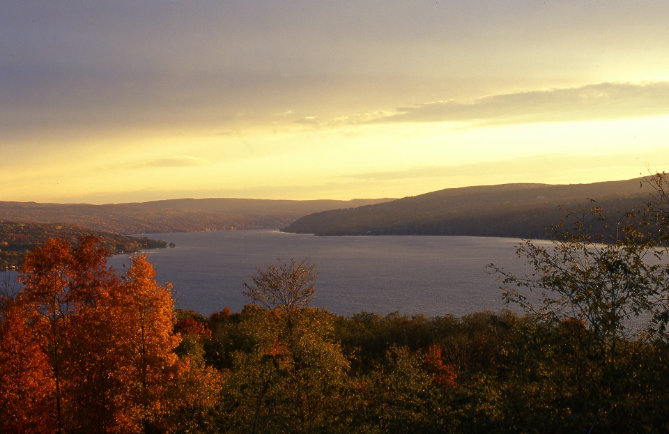 Scenic Autumn Keuka Lake photo courtesy of Bill Banaszewski Photography