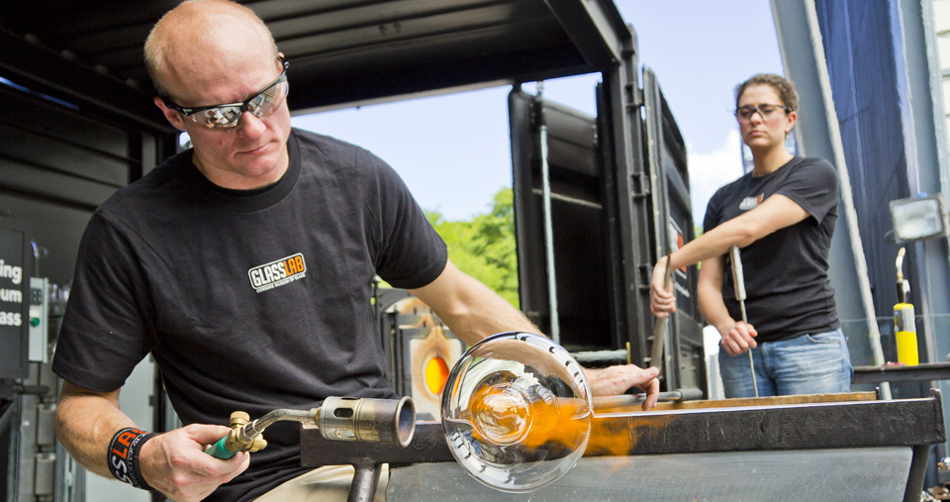 Hot Glass Show - photo by Jason Miller