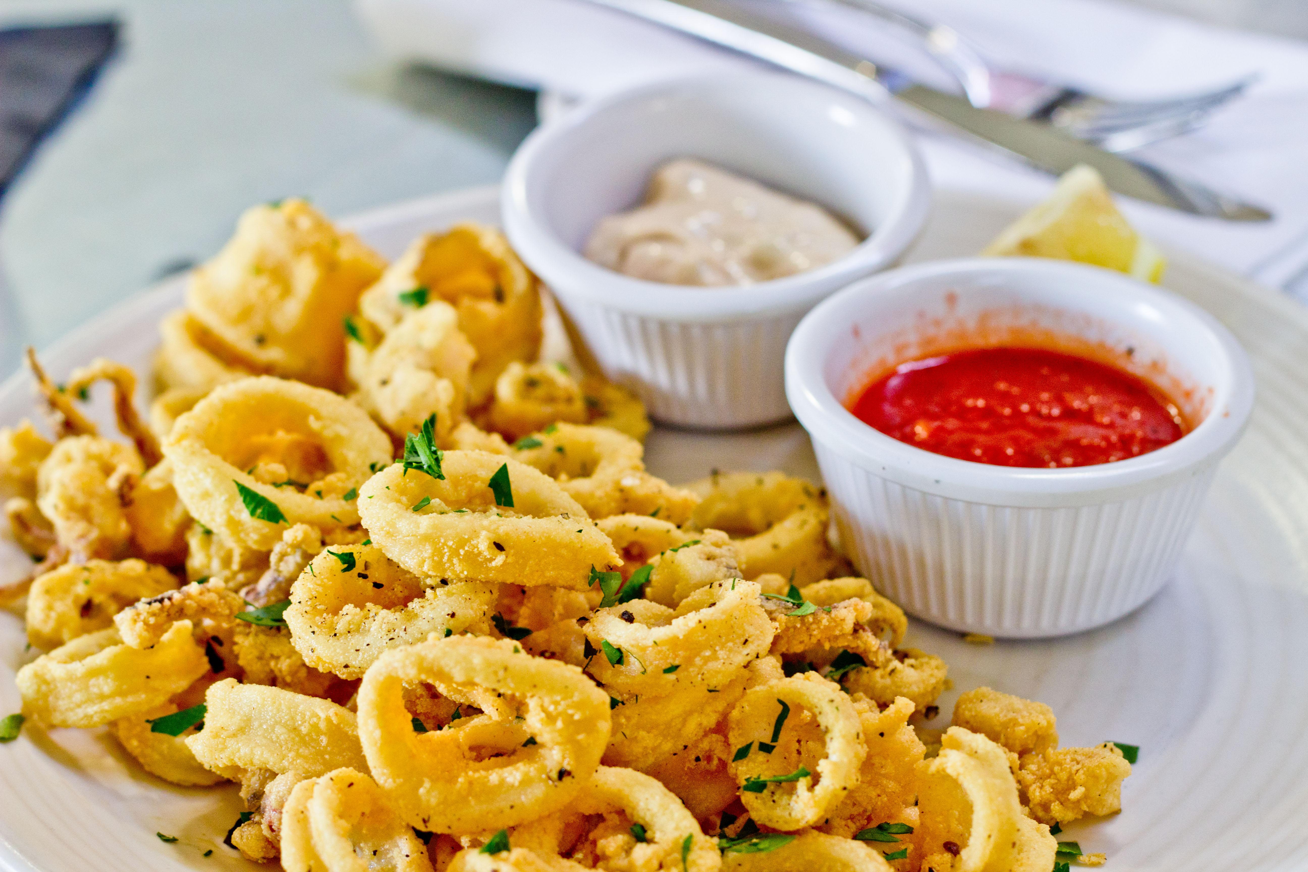 Osteria-La-Buca-Calamari-Fritti
