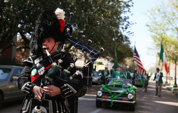 Friendly Sons of St Patrick Parade 1