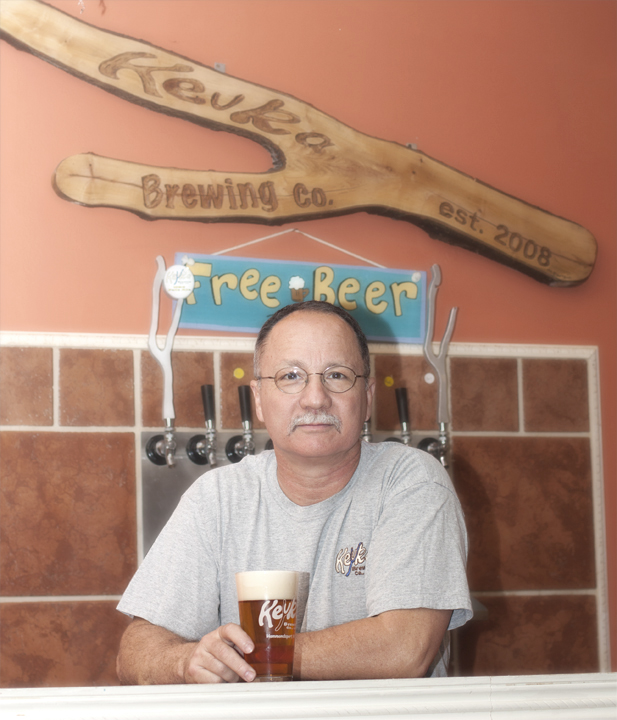 Rich Musso of Keuka Brewing Co.