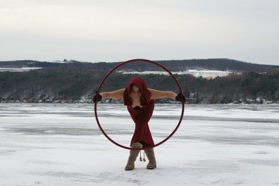 Hooping on Keuka Lake. Photo courtesy of Jess Lang.