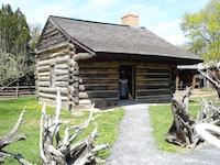 Benjamin Patterson Inn - Rustic Log Cabin