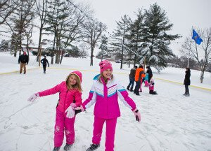 Ice Skate this winter at The Ridge Hotel in Lake Geneva