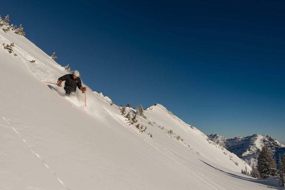 Ono Wieringa, Alta's General Manager and Powder Sage, shows Snowbrains how its done.