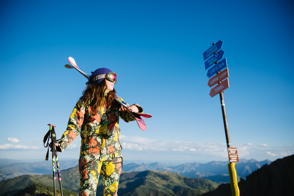 Snowbird Skier in Summer