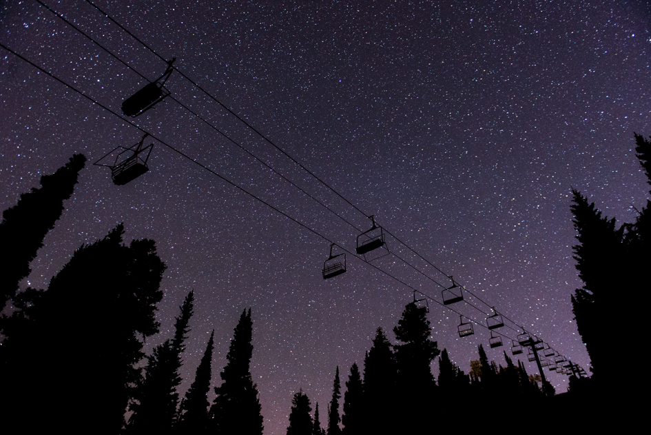 Solitude Starscape with Chairlifts
