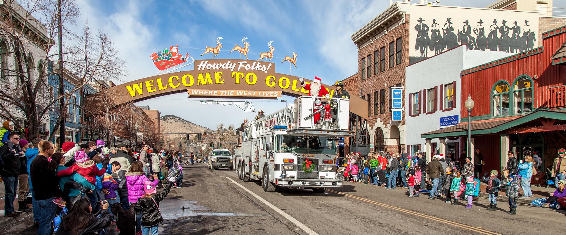 Christmas In Colorado.Olde Golden Christmas Golden Co Holiday Activities