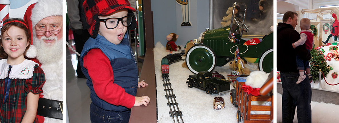 Christmas Story.A Christmas Story In Hammond In Window Display Exhibits