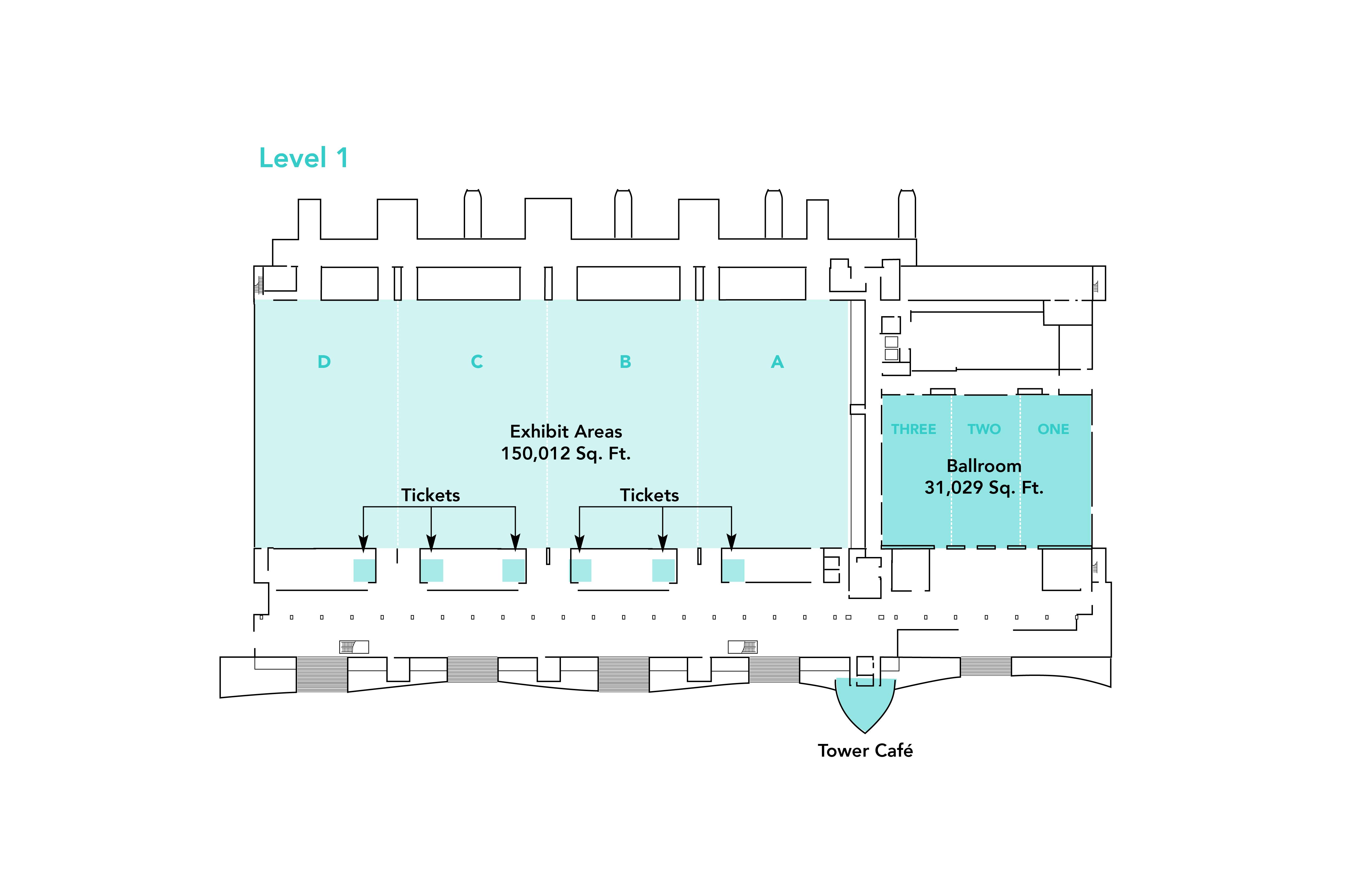Virginia Beach Convention Center Floor Plans Capacity