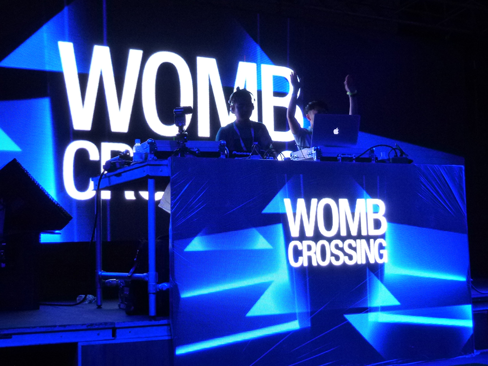 Womb Crossing takes the stage