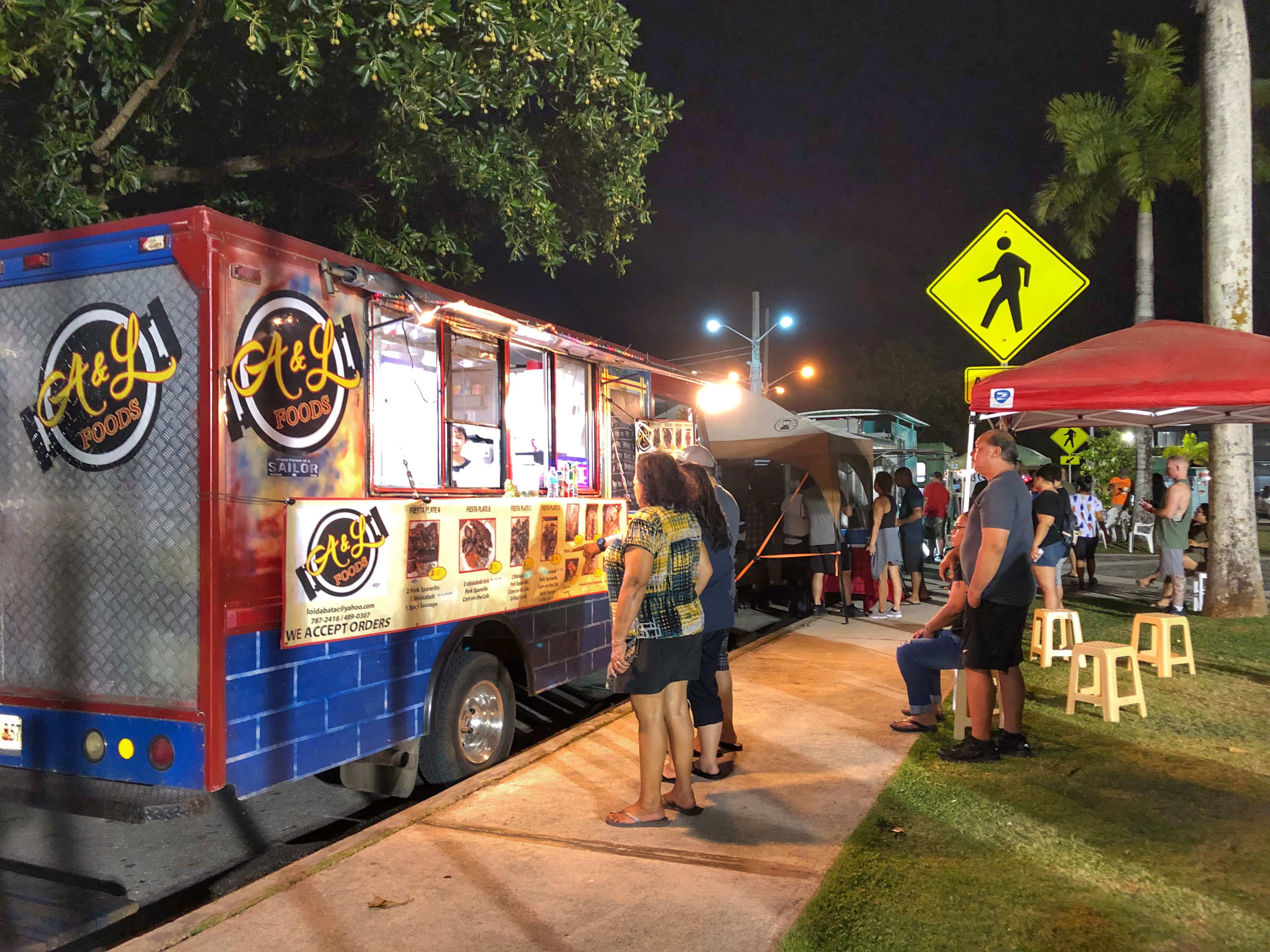 Instaguam Thursday Nights With The Guam Food Trucks