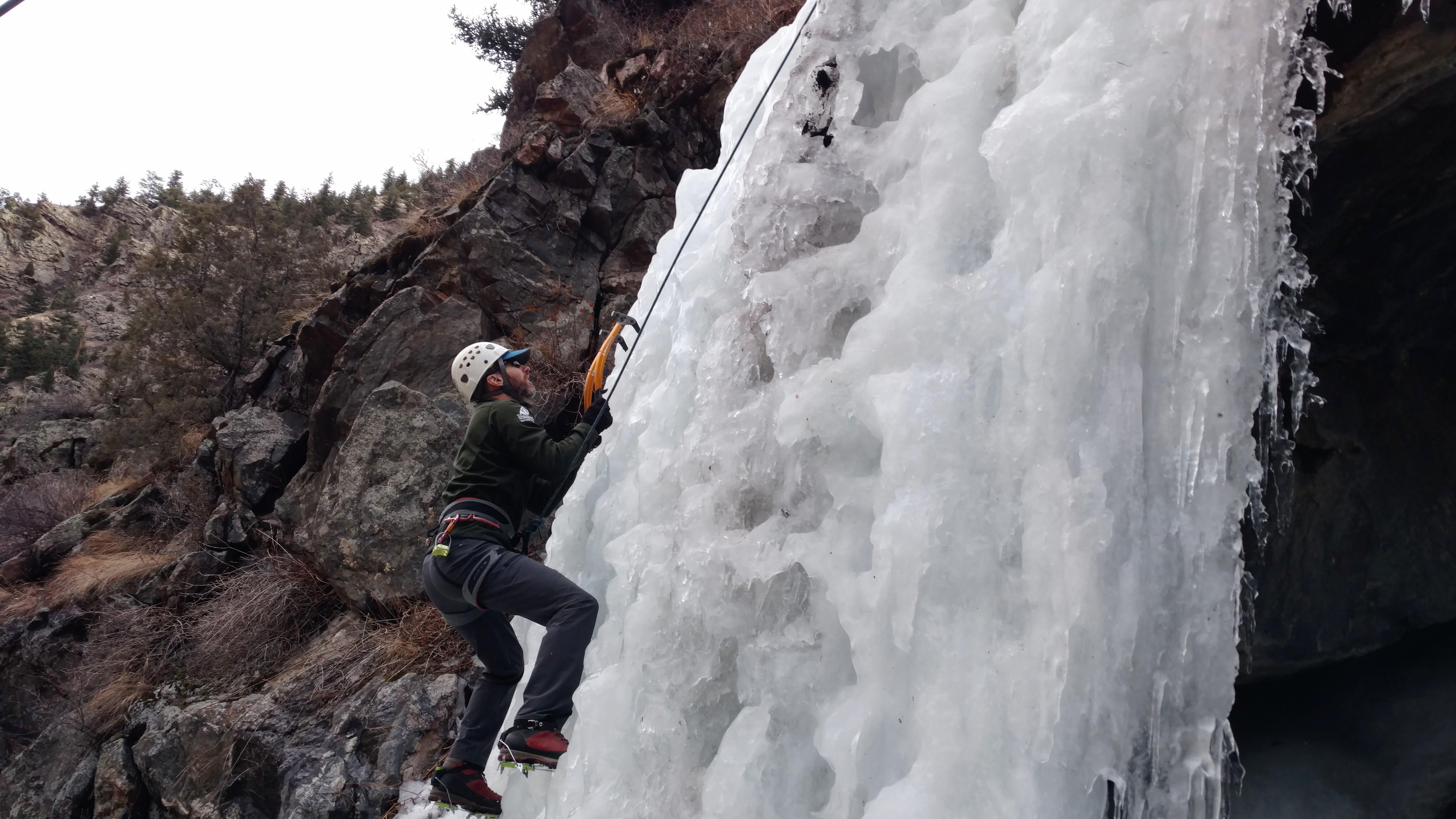 2e3b3e91f344 Ice Climbing in Golden