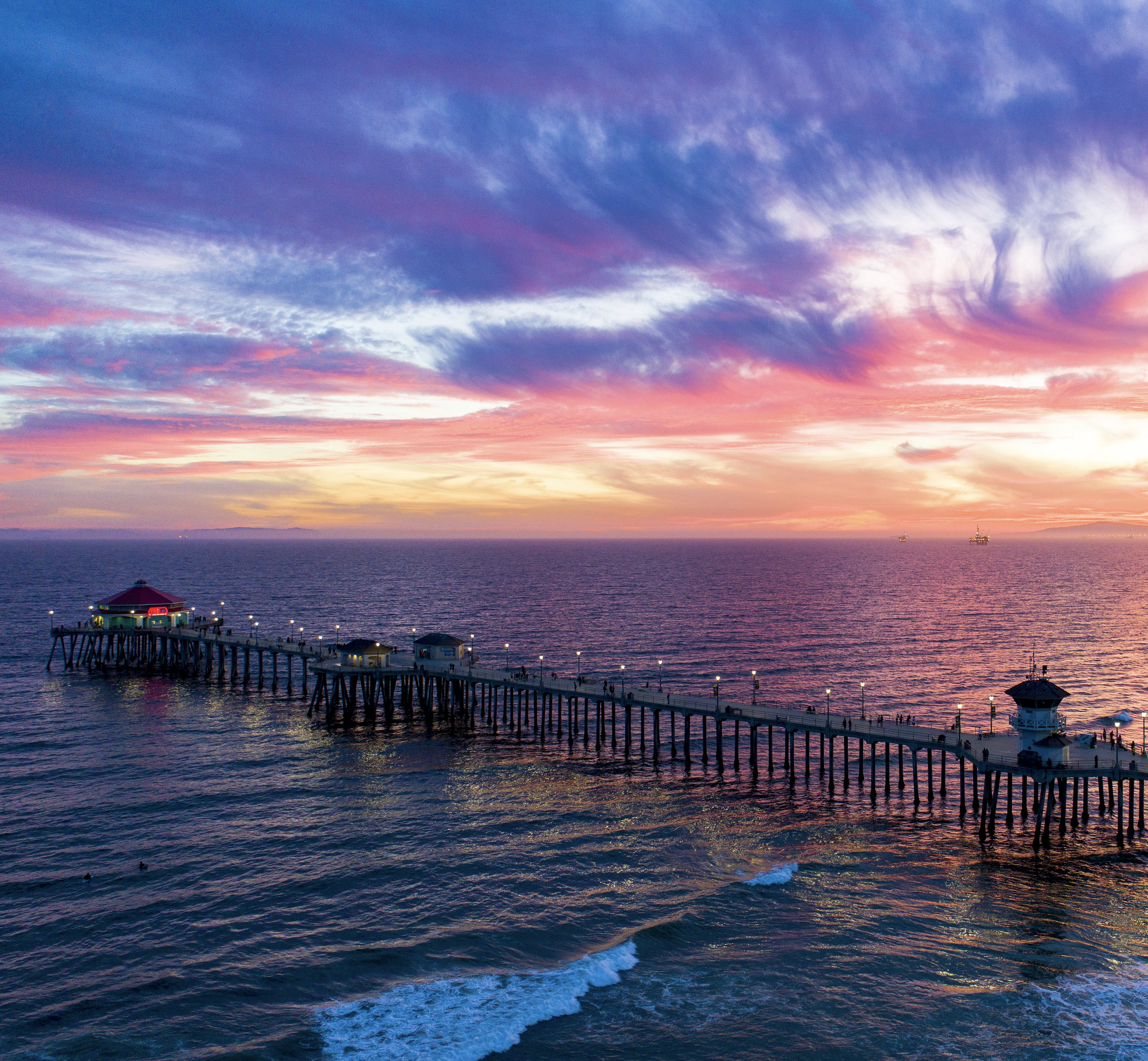 Fishing spots in Huntington Beach
