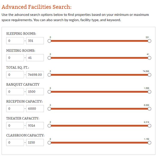 Durham Advanced Facilities Search