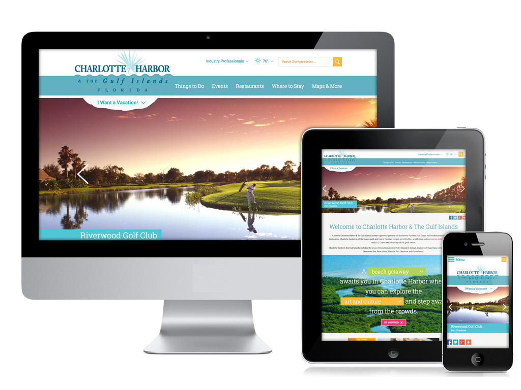 Charlotte Harbor Responsive Website